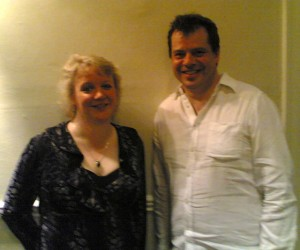 Issie Barratt and Steve Waterman