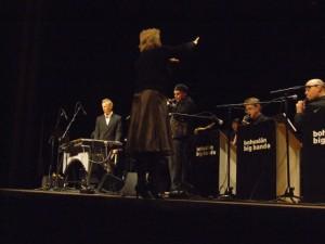 Issie Barratt conducts Bohuslän Big Band with Joe Locke and Anders Bergcrantz Sweden November 2006