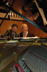 Anders Bergcrantz and Issie Barratt @ Angel Studio, London 2007