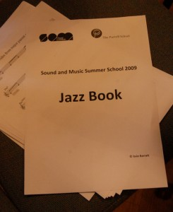 Issie Barratt's Spell Book for the Sound and Music Summer School for Young Composers 2010