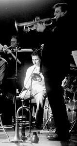 Steve Waterman plays Issie's music with Voice of the North Jazz Orchestra 2009