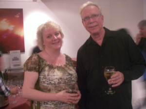 Issie Barratt and Gary Burton