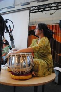 Suranjana Ghosh - in rehearsal for Copenhagen gig 2010