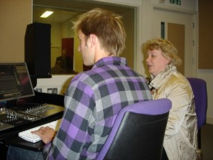 Issie Barratt and Oli Keen (engineer for Meinrad Iten Suite CD)