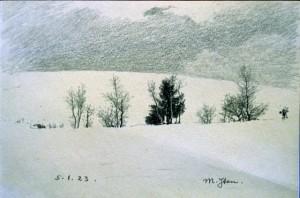 Snowscene - 3rd movement of Issie's Meinrad Iten Suite FUZ006