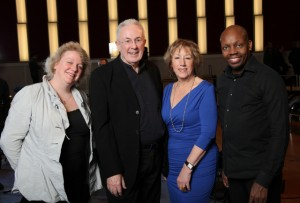Issie Barratt, Mike Gibbs, Norma Winstone and Mark Mondesir - Here's a Song for You -CD launch gig - Hamburg December 2011